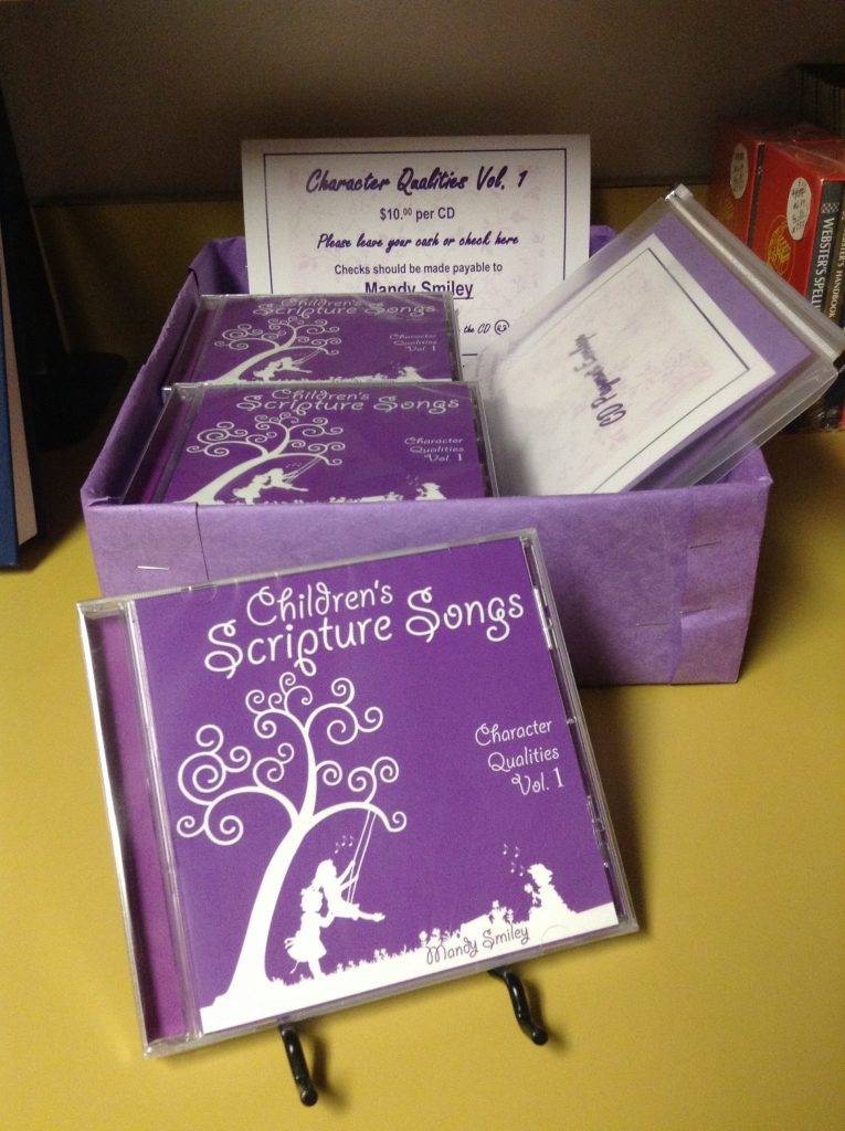 """Children's Scripture Songs"" CD Available!"